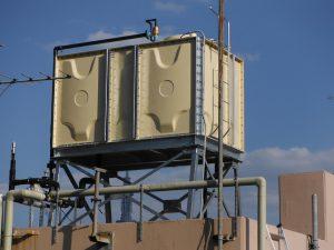 高架水槽・給湯設備の改修